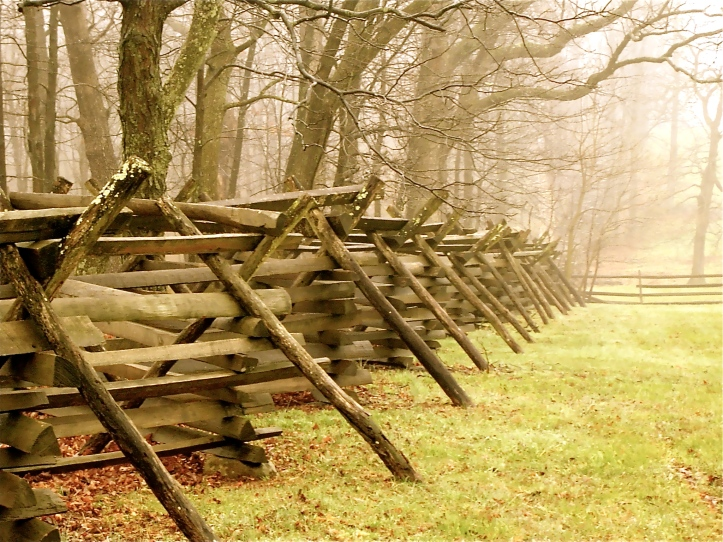 Wooden Fence at Gettysburg