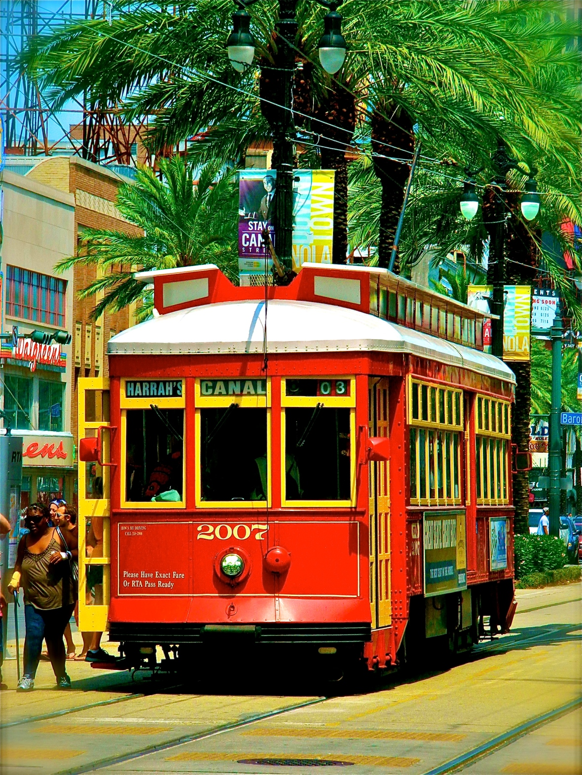 Trolley on Canal