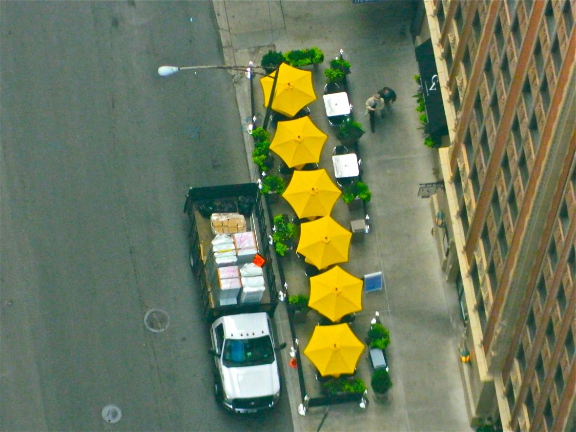 Six Umbrellas