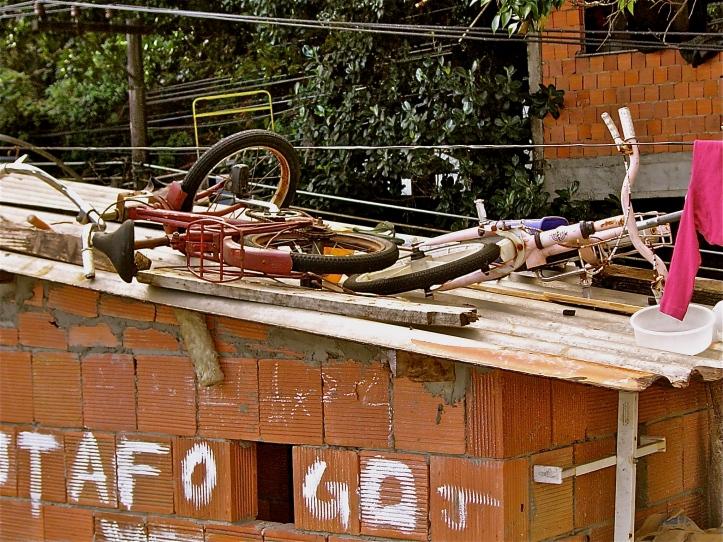 Bicicletas No Telhado