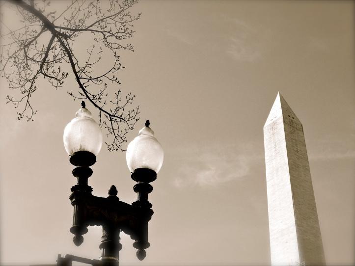 Washington Monument Tops