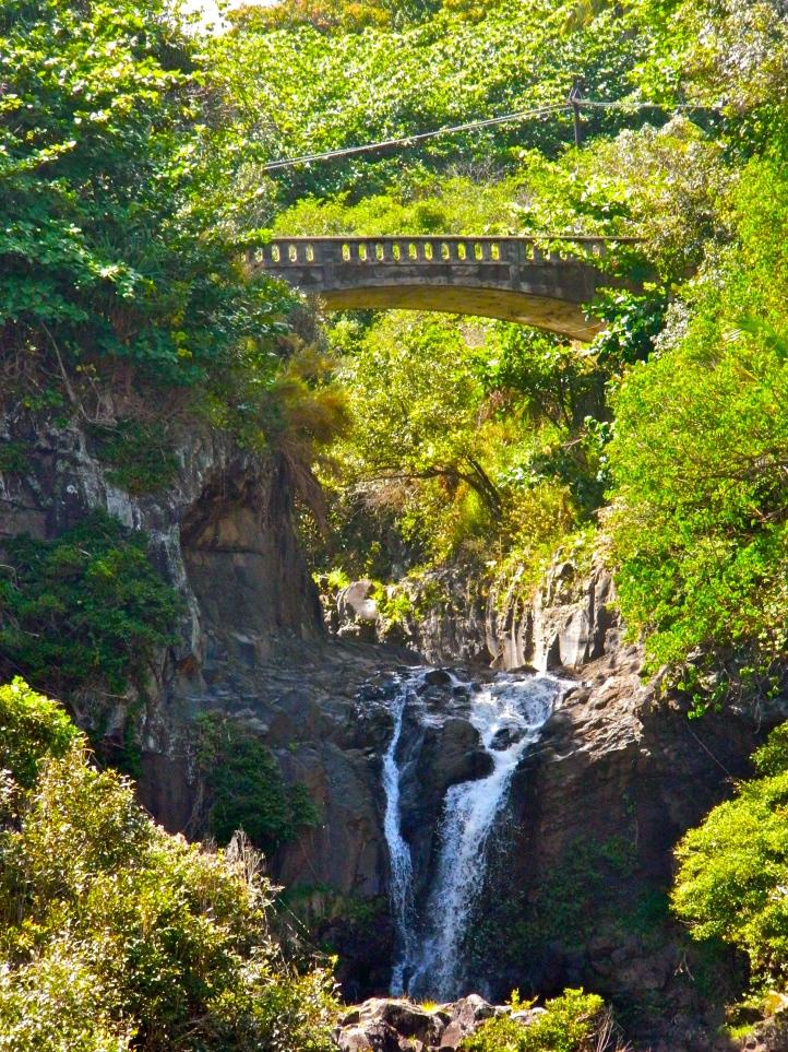 Hana Drive Bridge Falls