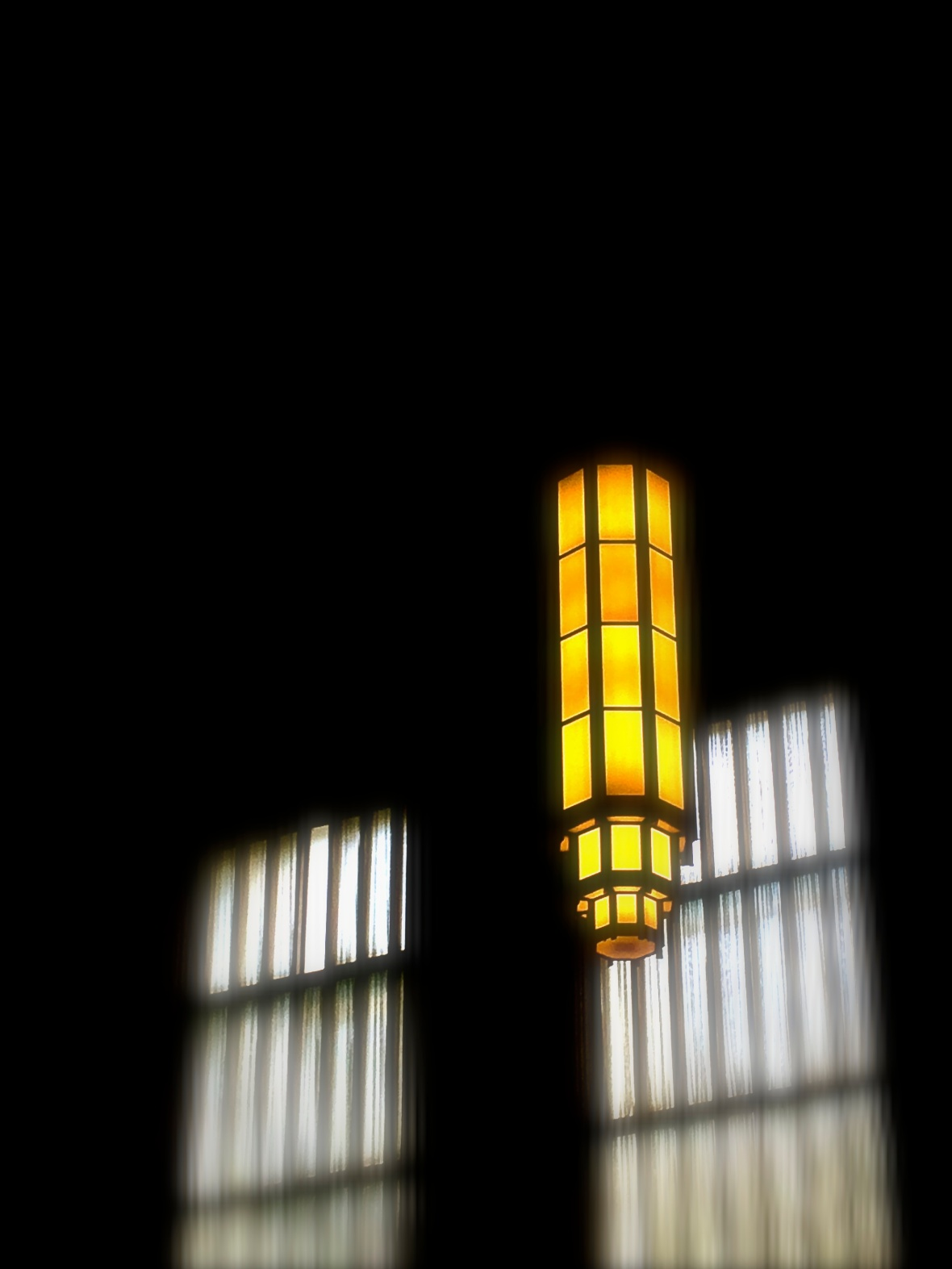 Philly Train Station Lights