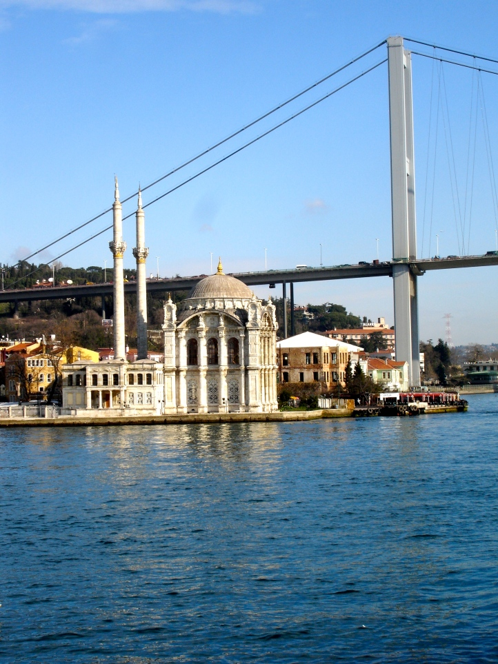 Bosphorous Mosque and Bridge