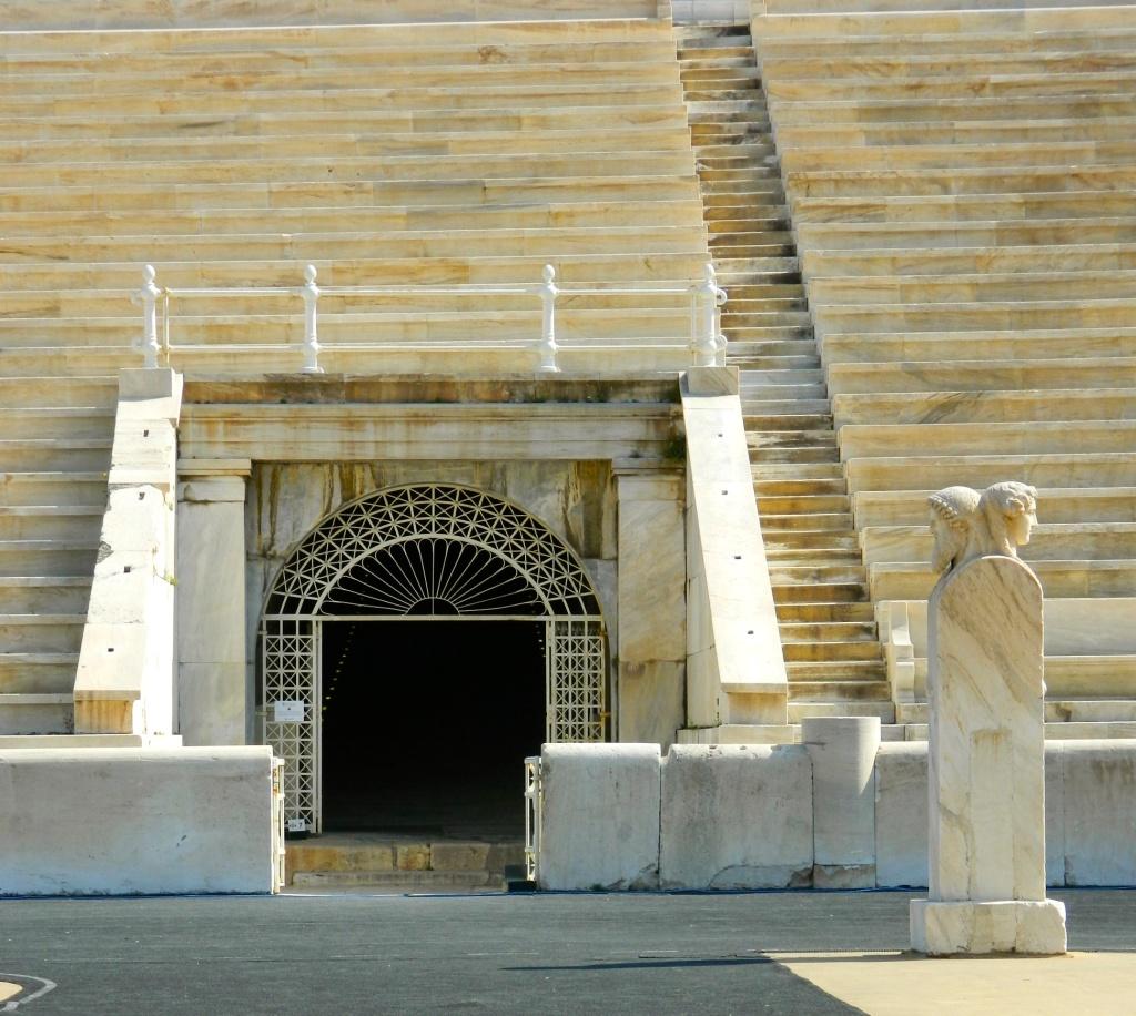 Olympic Stadium Statues Gate