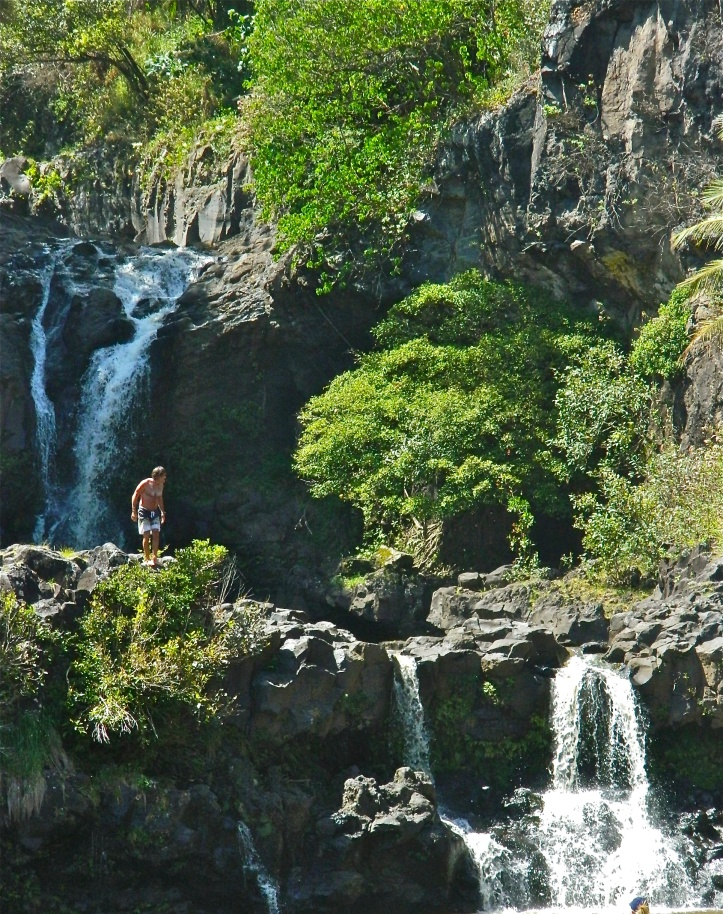 Hana Drive Waterfalls Sacred Pools