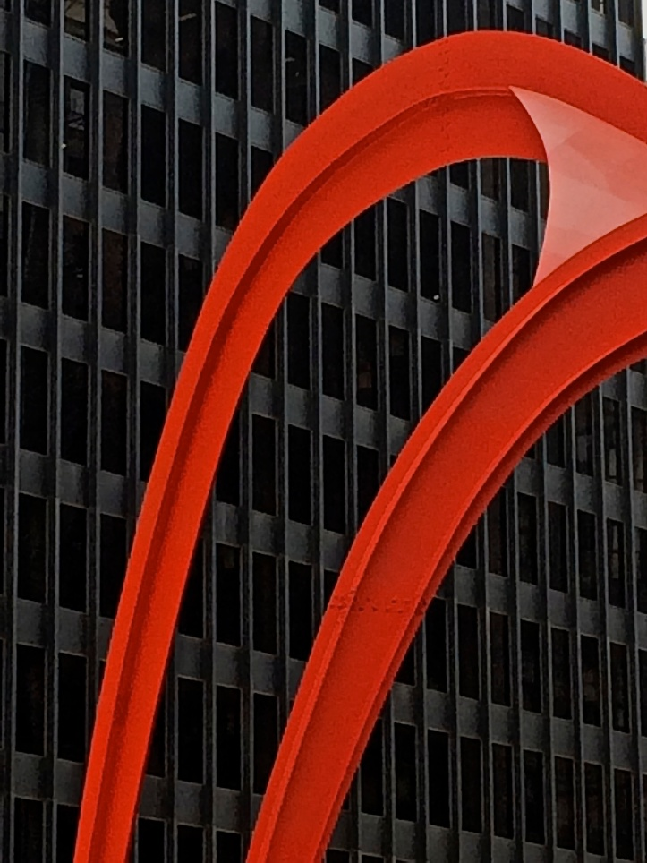 Red Steel on Black