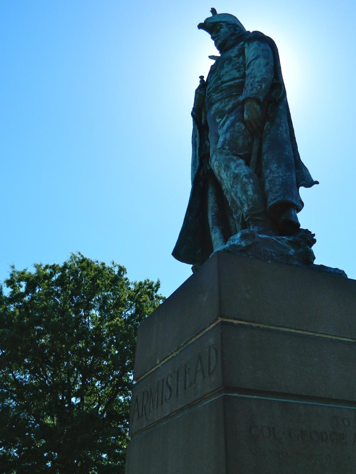 Statue Sky Armistead 2